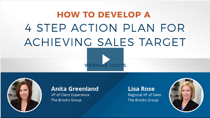 How to Develop a 4 Step Action Plan for Achieving Sales Target