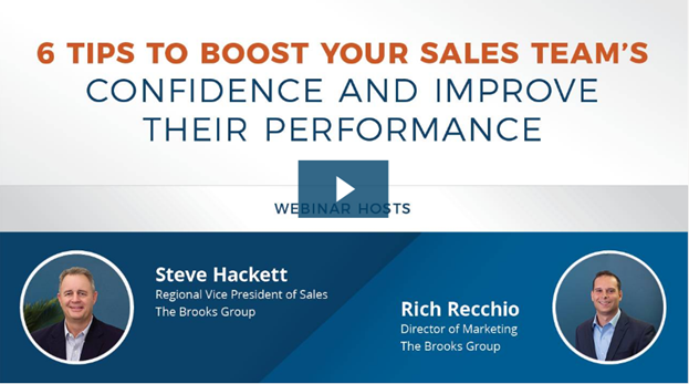 6 Tips to Boost Your Sales Team's Confidence and Improve Their Performance