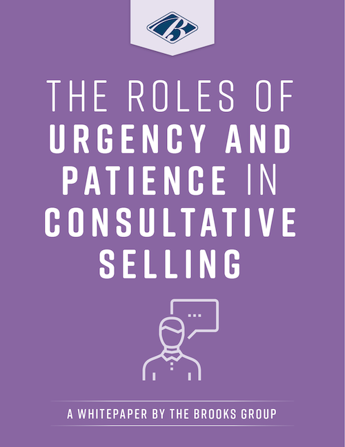 The Roles of Urgency and Patience in Consultative Selling