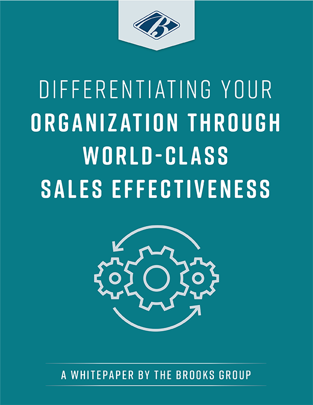 Differentiating Your Organization Through World-Class Sales Effectiveness