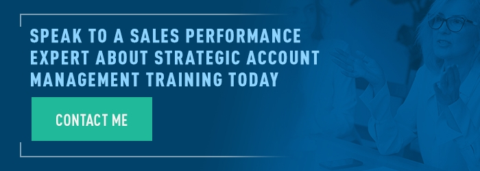 sales performance expert account management training