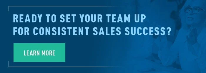set sales up for consistent success