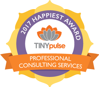 TINYpulse Happiest Company Awards Winner