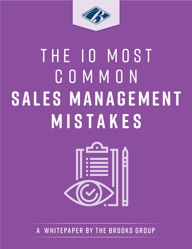 The 10 Most Common Sales Management Mistakes