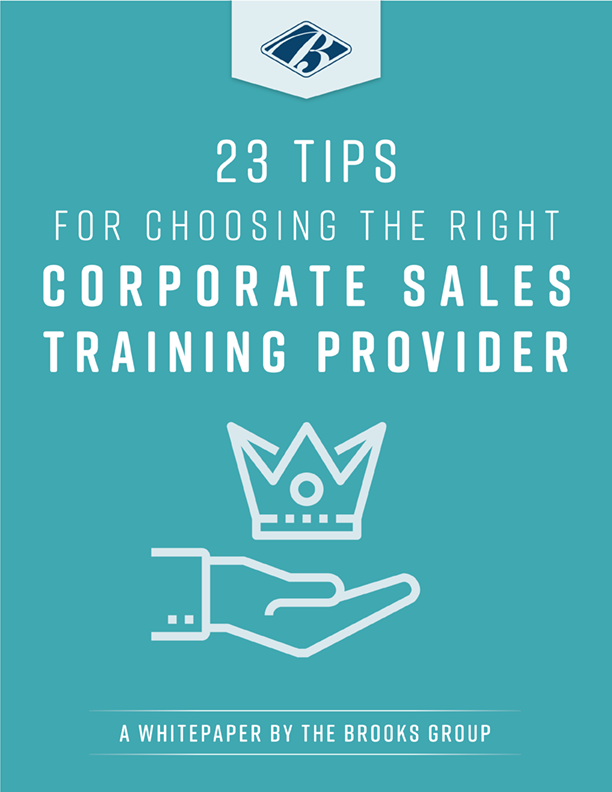 23 Tips for Choosing the Right Corporate Sales Training Provider