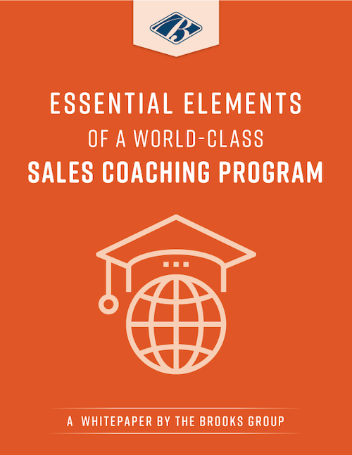 Essential Elements of a World-Class Sales Coaching Program
