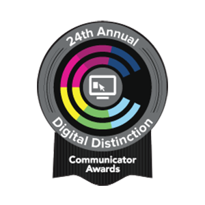Communicator Awards of Distinction: User Experience, Best Practices, and User Interface
