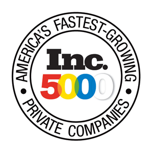 Inc. 5000 List of Fastest Growing Private Companies in America