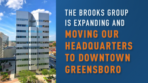 brooks group moves to downtown greensboro