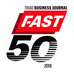 Triad Business Journal Fast 50 List