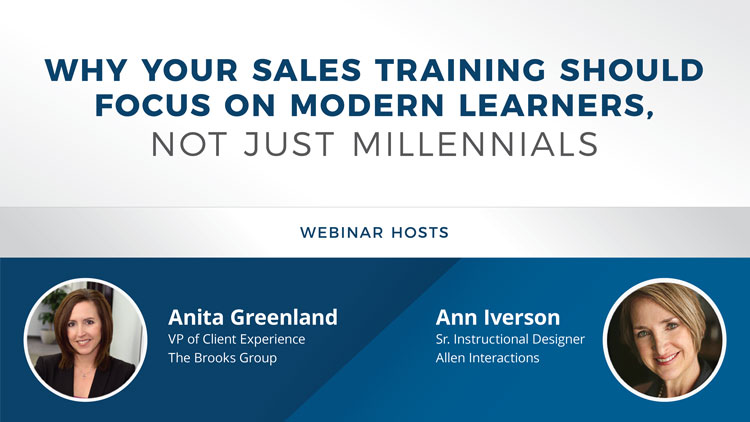 Why Your Sales Training Should Focus on Modern Learners, Not Just Millennials