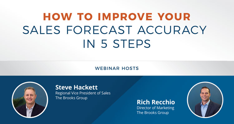 How to Improve Your Sales Forecast Accuracy in 5 Steps