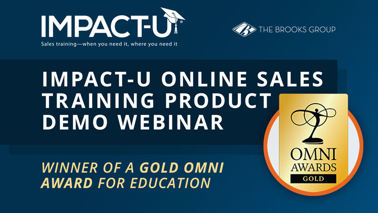 IMPACT-U Online Sales Training - Product Demo