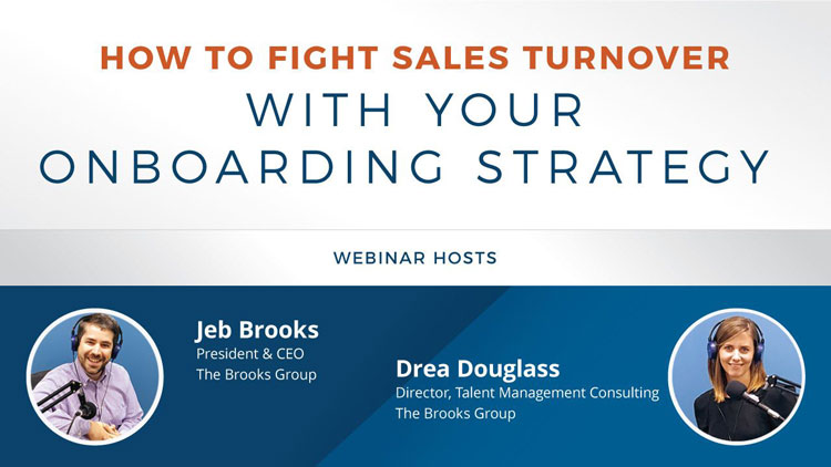 How to Fight Sales Turnover with Your Onboarding Strategy