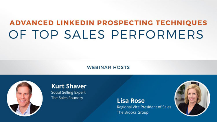 Advanced LinkedIn Prospecting Techniques of Top Sales Performers