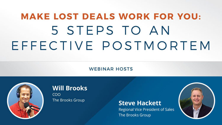 Make Lost Deals Work for You: 5 Steps to an Effective Postmortem