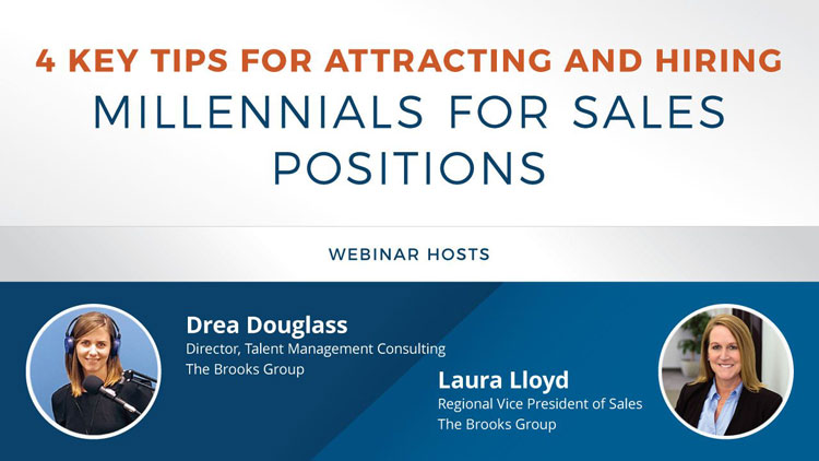 4 Key Tips for Attracting and Hiring Millennials for Sales Positions