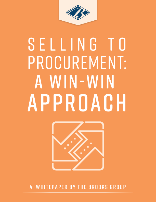 Selling to Procurement: A Win-Win Approach